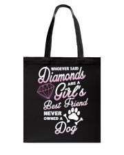 Diamond Dog Tote Bag tile