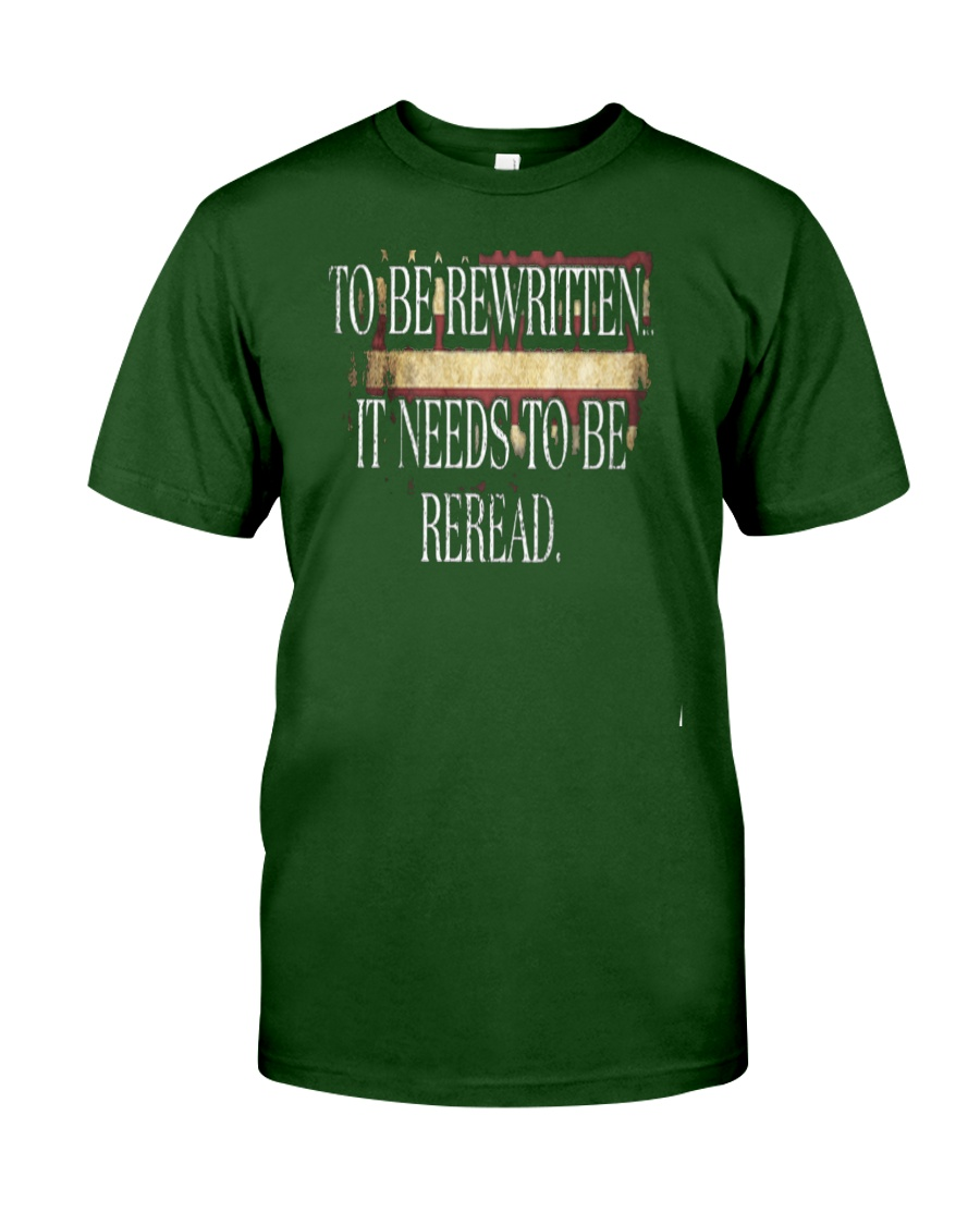 PATRIOTIC - Reread v5 M 0019 Classic T-Shirt