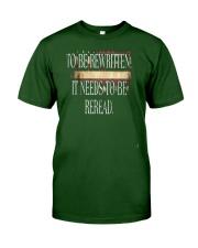 PATRIOTIC - Reread v5 M 0019 Classic T-Shirt front