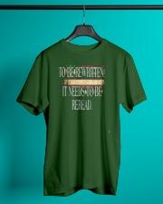PATRIOTIC - Reread v5 M 0019 Classic T-Shirt lifestyle-mens-crewneck-front-3