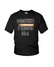 PATRIOTIC - Reread v5 M 0019 Youth T-Shirt thumbnail