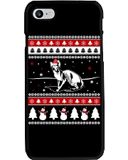 Sphynx Cat Ugly Christmas Sweaters Phone Case i-phone-7-case