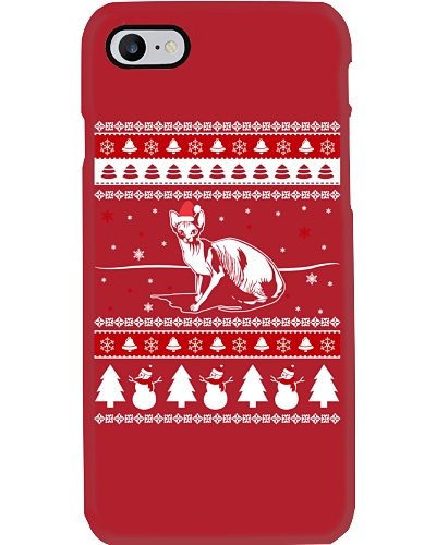 Sphynx Cat Ugly Christmas Sweaters