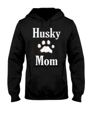 Dog Husky Mom Shirts HUSKY MOM Hooded Sweatshirt thumbnail