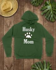Dog Husky Mom Shirts HUSKY MOM Hooded Sweatshirt lifestyle-unisex-hoodie-front-7