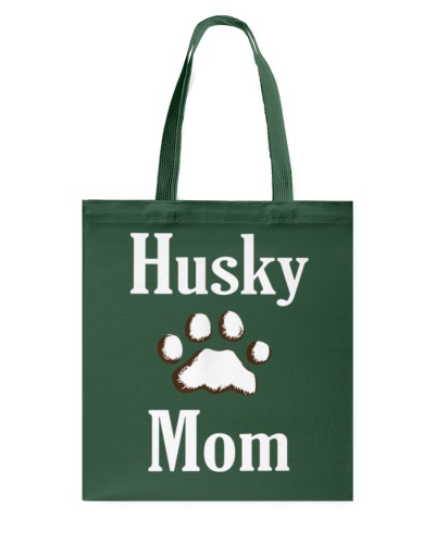 Dog Husky Mom Shirts HUSKY MOM