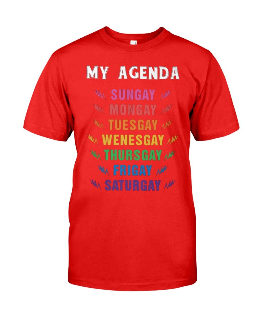 LGBT Pride Tshirt Classic T-Shirt