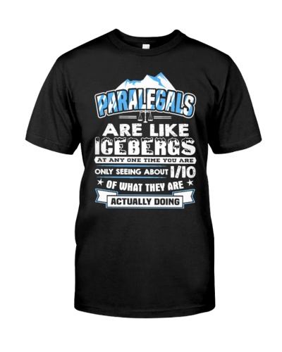 Paralegals Are Like Icebergs