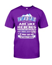 Paralegals Are Like Icebergs Classic T-Shirt front