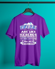Paralegals Are Like Icebergs Classic T-Shirt lifestyle-mens-crewneck-front-3