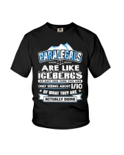 Paralegals Are Like Icebergs Youth T-Shirt thumbnail