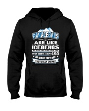 Paralegals Are Like Icebergs Hooded Sweatshirt thumbnail