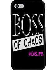 Mothers Day Boss Of Chaos Mom Apparel Phone Case thumbnail