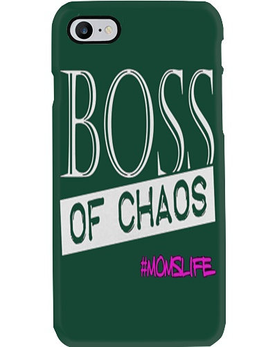 Mothers Day Boss Of Chaos Mom Apparel