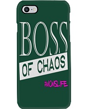 Mothers Day Boss Of Chaos Mom Apparel Phone Case i-phone-7-case