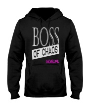 Mothers Day Boss Of Chaos Mom Apparel Hooded Sweatshirt thumbnail
