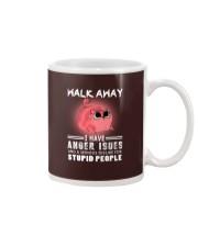 Walk Away I Have Anger Issues Cat    Mug thumbnail