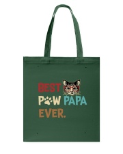 Cat Paw T Shirt Best Paw PaPa Ever Tote Bag thumbnail