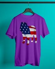 Patriotic Bulldog Tank Top Classic T-Shirt lifestyle-mens-crewneck-front-3