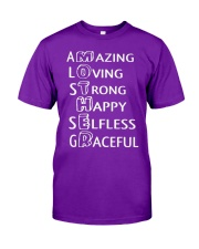 Mothers Day 1 2 Classic T-Shirt front