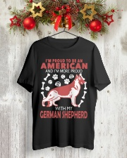 German Shepherd - Proud To Be American More Proud Classic T-Shirt thumbnail