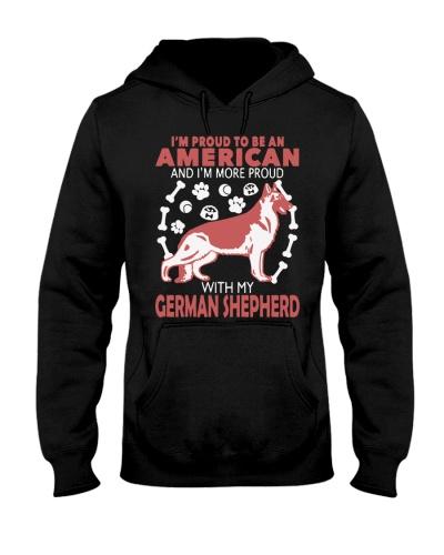 German Shepherd - Proud To Be American More Proud