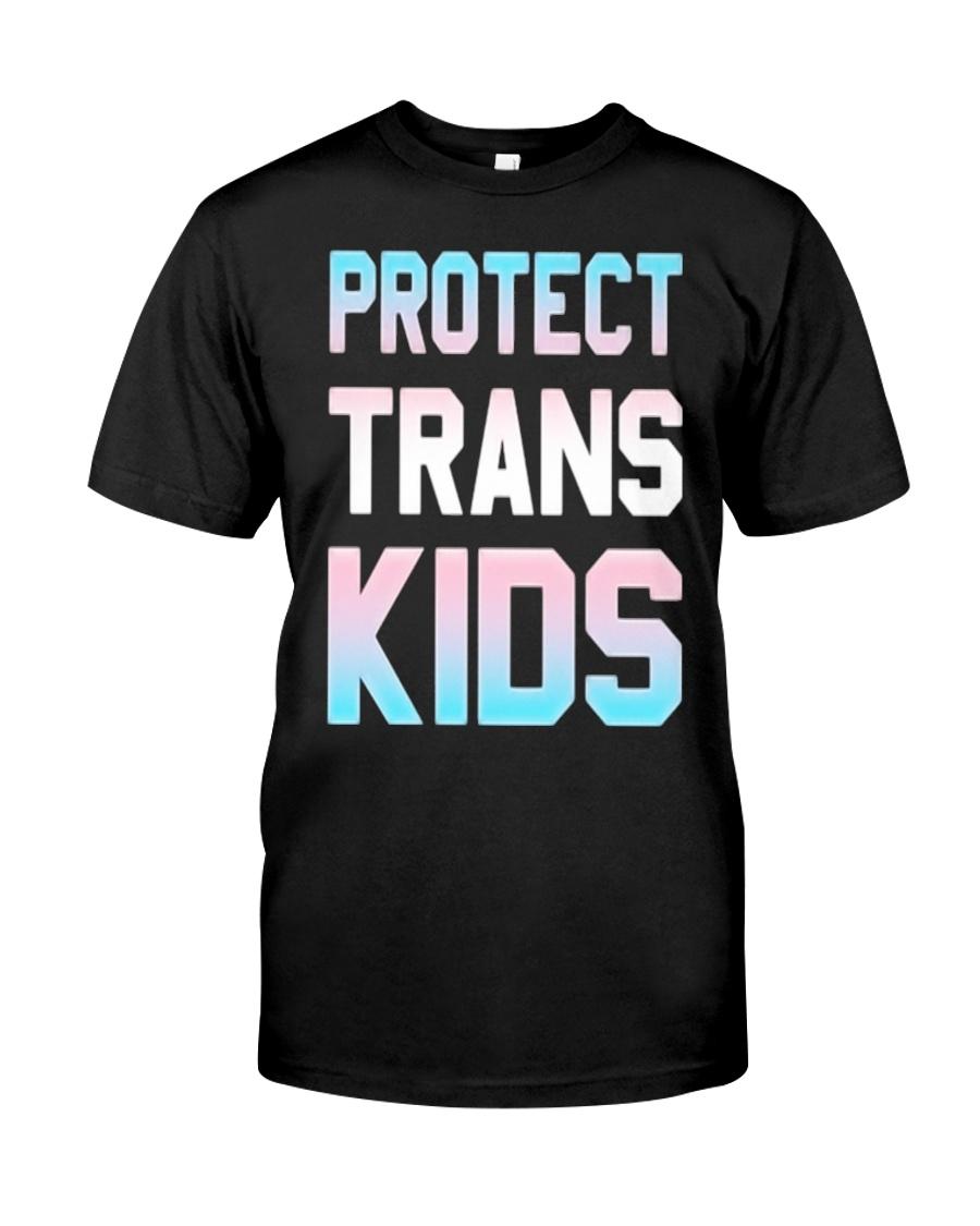 Protect Trans Kids T-Shirt Gift LGBT Pride Classic T-Shirt