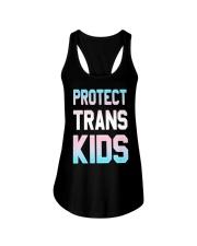 Protect Trans Kids T-Shirt Gift LGBT Pride Ladies Flowy Tank thumbnail
