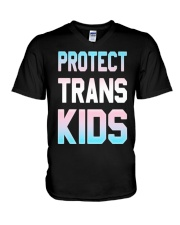Protect Trans Kids T-Shirt Gift LGBT Pride V-Neck T-Shirt tile