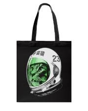 Astronaut Space Cat green screen version Tote Bag thumbnail