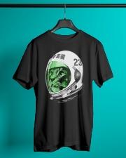Astronaut Space Cat green screen version Classic T-Shirt lifestyle-mens-crewneck-front-3