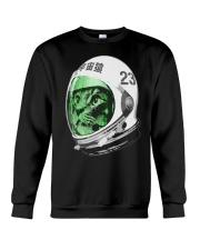 Astronaut Space Cat green screen version Crewneck Sweatshirt thumbnail