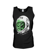Astronaut Space Cat green screen version Unisex Tank thumbnail