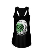 Astronaut Space Cat green screen version Ladies Flowy Tank thumbnail