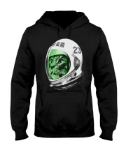 Astronaut Space Cat green screen version Hooded Sweatshirt front