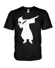 Graduation 2018 Dabbing Dance High V-Neck T-Shirt thumbnail