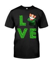 Dog Shirt Cat Cat Leprechaun  St Pattrick Day  Classic T-Shirt thumbnail