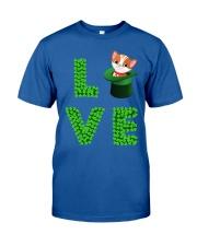 Dog Shirt Cat Cat Leprechaun  St Pattrick Day  Classic T-Shirt front