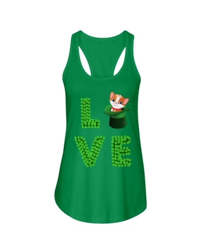 Dog Shirt Cat Cat Leprechaun  St Pattrick Day