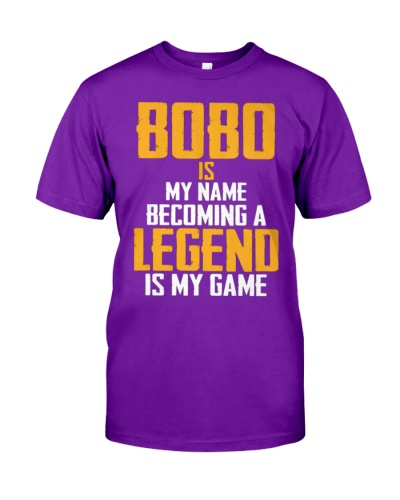BOBO Is Legend - Fathers Day Shirt