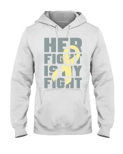 Her Fight Is My Fight Spina Bifida Awareness Mom Hooded Sweatshirt thumbnail