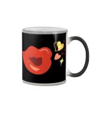 Kiss deign Color Changing Mug thumbnail