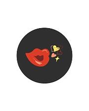 Kiss deign Circle Magnet thumbnail