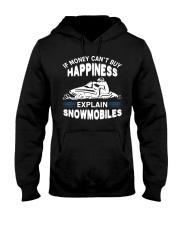 Snowmobiles Hooded Sweatshirt thumbnail