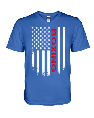 USA Flag Boxing