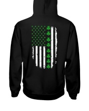 St Patrick's Day Irish American Flag Hooded Sweatshirt thumbnail
