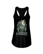 WOLF - NEVER STOP DREAMING Ladies Flowy Tank thumbnail