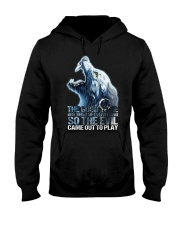 WOLF - THE GOOD IN ME GOT TIRED Hooded Sweatshirt thumbnail