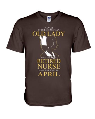 Never Underestimate Old Lady Nurse April