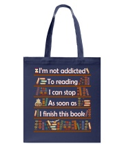 Addicted To Reading Tote Bag tile